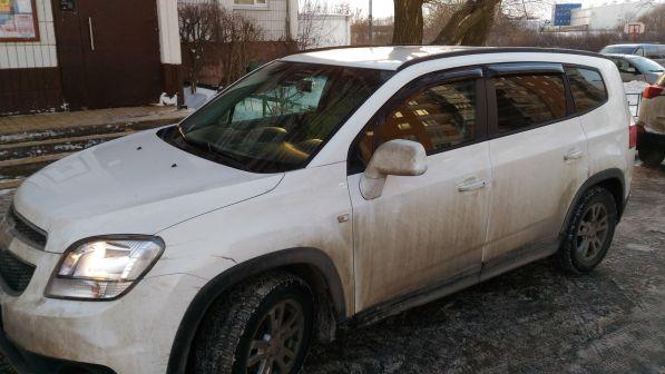 Chevrolet Orlando 2013 - отзыв владельца