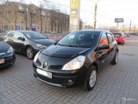 Renault Clio 2007 - отзыв владельца