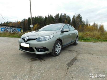 Renault Fluence 2013 - отзыв владельца