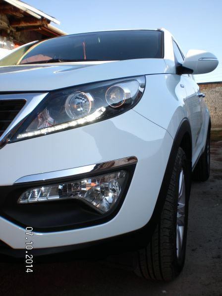 Kia Sportage 2013 - отзыв владельца