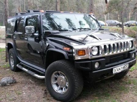 Hummer H2 2005 - отзыв владельца