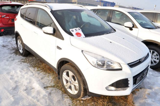 Ford Kuga, 2016 год, 1 608 000 руб.