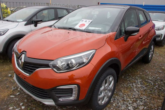 Renault Kaptur, 2016 год, 995 980 руб.