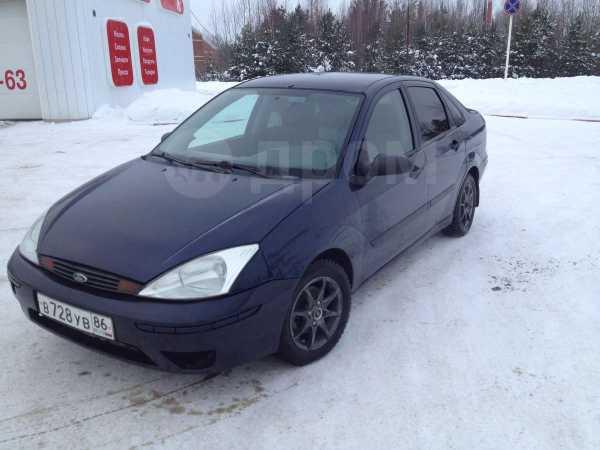 Ford Focus, 2002 год, 160 000 руб.