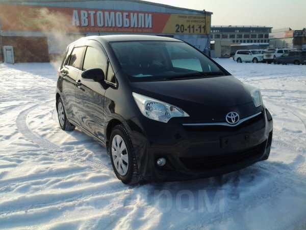 Toyota Ractis, 2011 год, 595 000 руб.