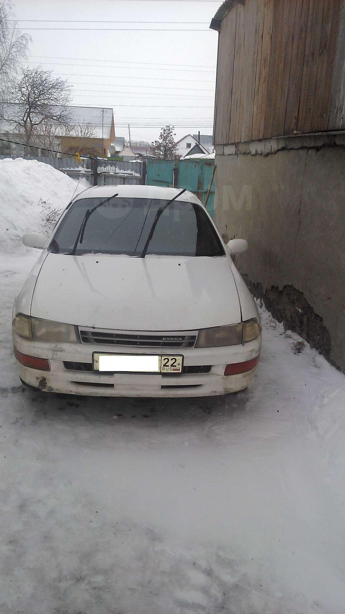 Купить тойота карина в новосибирске б/у