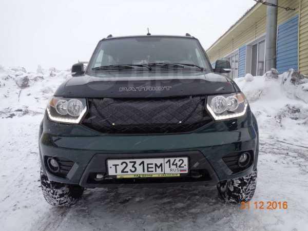 УАЗ Патриот, 2015 год, 800 000 руб.