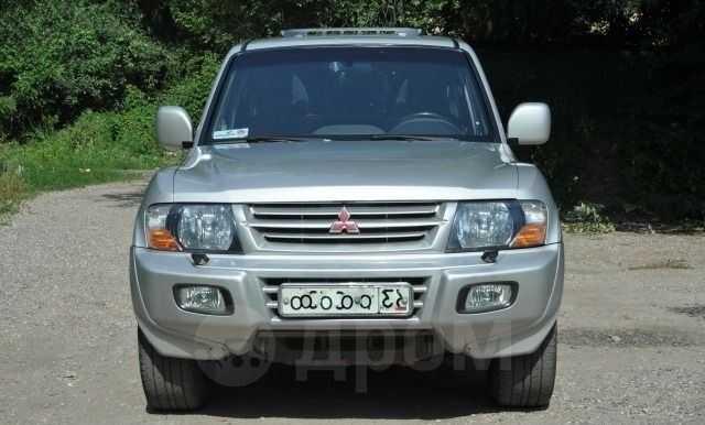 Mitsubishi Pajero, 2002 год, 420 000 руб.