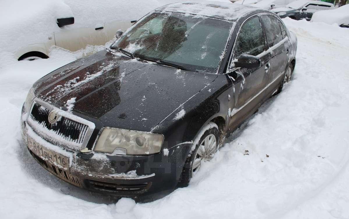 skoda superb 2003 комплектация