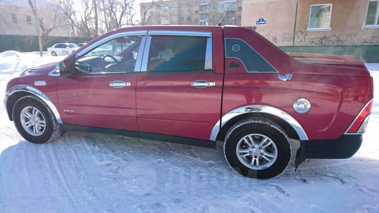 SsangYong Actyon Sports, 2006 год, 400 000 руб.