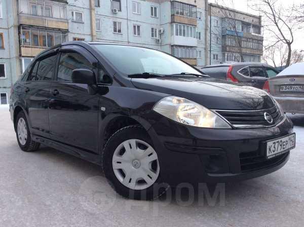 Nissan Tiida, 2011 год, 478 000 руб.
