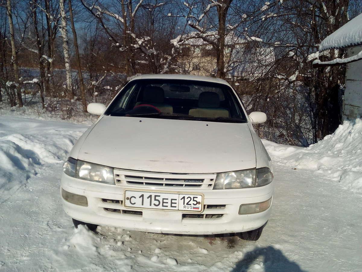 toyota carina 1993 акпп