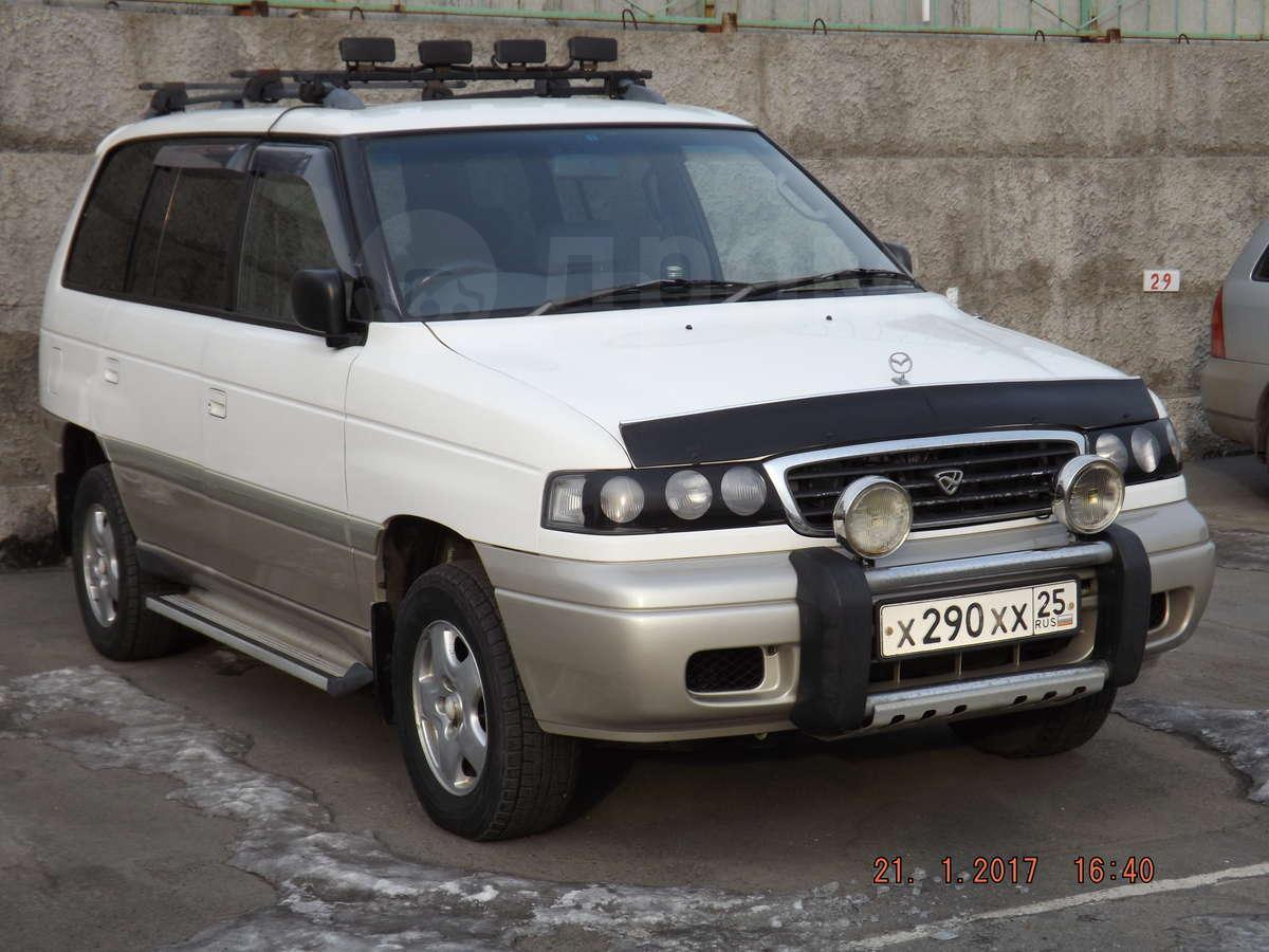 подножки mazda mpv 1996