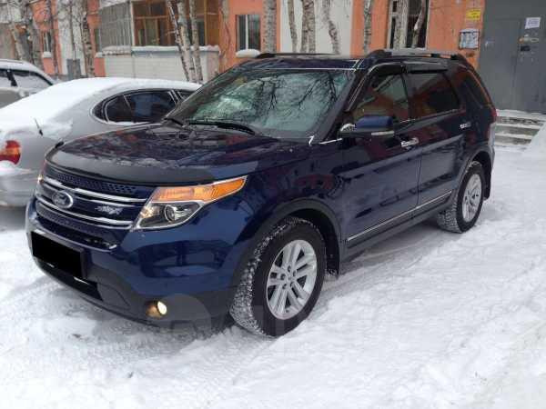 Ford Explorer, 2011 год, 1 215 000 руб.
