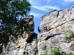 Быркинские (Люськины) скалы (Гора)