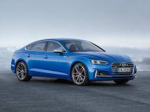 Audi S5 2016, лифтбек, 2 поколение, B9