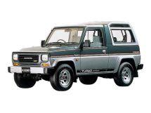 Daihatsu Rugger 2-й рестайлинг 1990, джип/suv 3 дв., 1 поколение