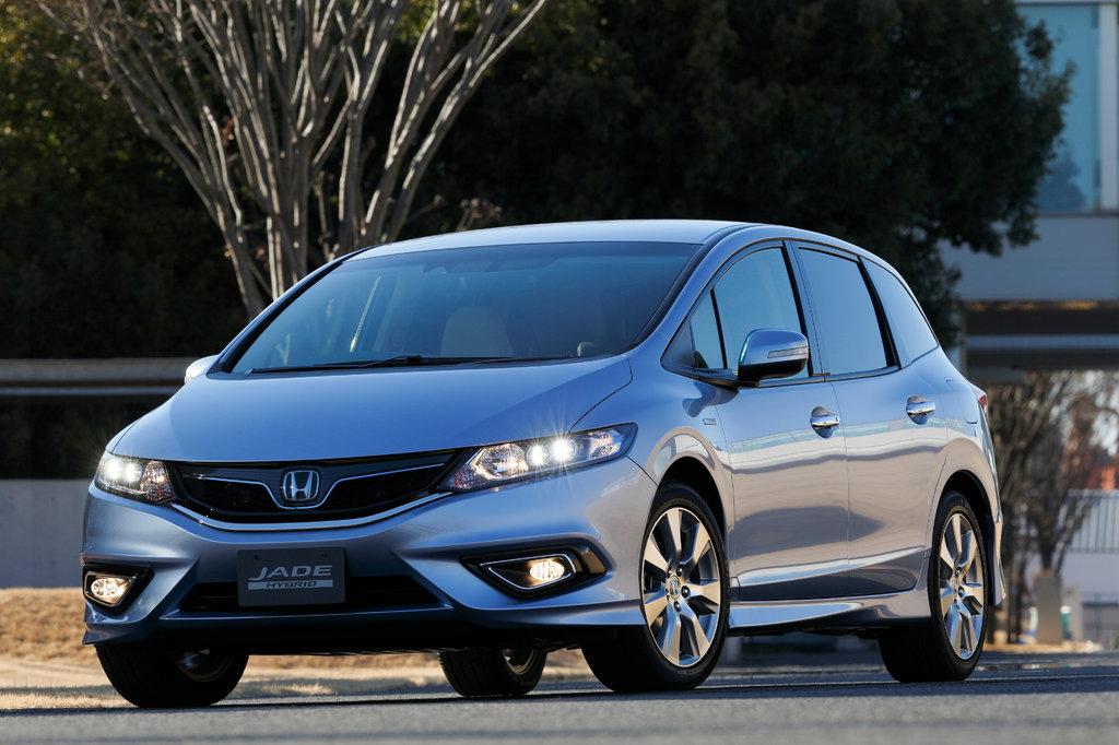 Honda Jade 2015, 2016, 2017, минивэн (3 ряда сидений), 1 поколение технические характеристики и ...
