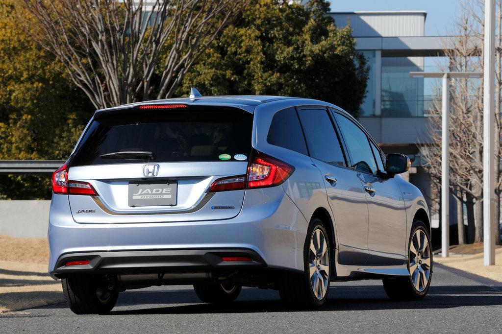 Honda Jade 2015, 2016, 2017, 2018, минивэн, 1 поколение технические характеристики и комплектации