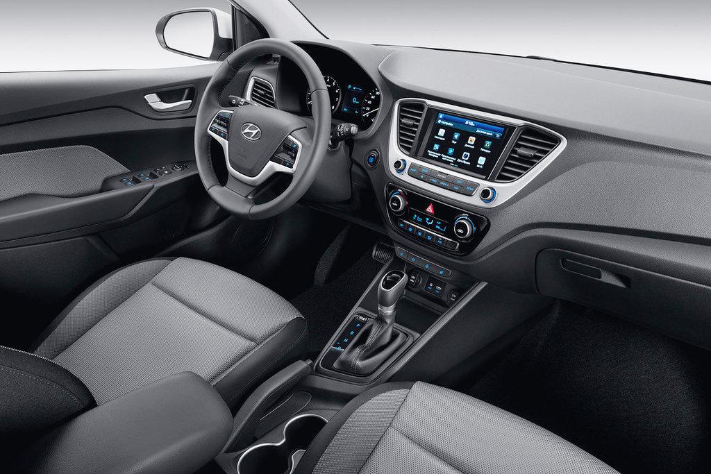 Hyundai Solaris салон — описание модели