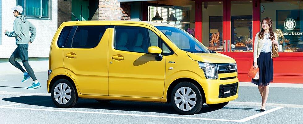 suzuki wagon r fx 2021 variantai