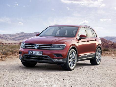 Volkswagen Tiguan (Mk 2) 01.2016 - 01.2021