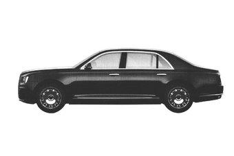 Дизайн запатентованного сегодня седана значительно отличается от того, что всплывал в базе Роспатента в июне 2016 года.