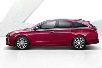 Объем багажника нового Hyundai i30 Wagon составляет 602 л.