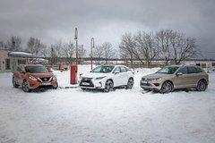 Гибрид? Дизель? Бензин? Экотест Lexus RX 450h, Nissan Murano 3.5 и VW Touareg TDI - «Автоновости»