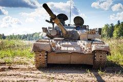 Тест-драйв танка Т-80У с газотурбинным двигателем. Тихий гигант - «Автоновости»