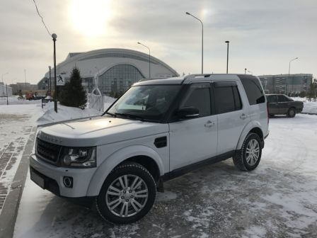 Land Rover Discovery 2016 - отзыв владельца