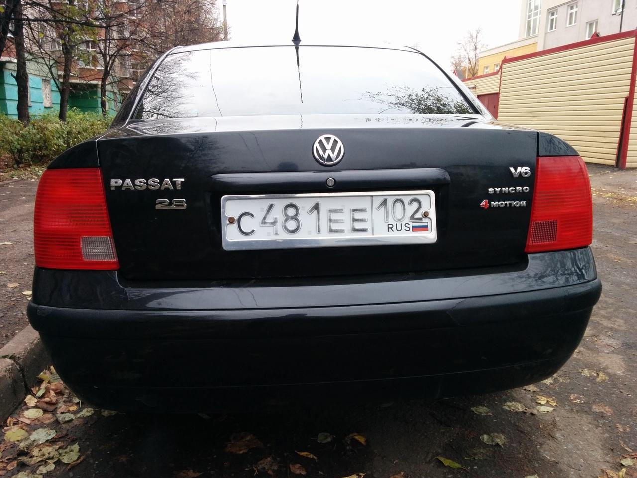 volkswagen passat b5+ 2.8 плюсы и минусы