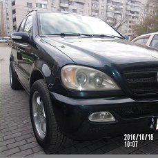 Mercedes-Benz M-Class 2002 - отзыв владельца
