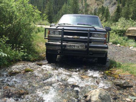 Chevrolet Tahoe 1996 - отзыв владельца