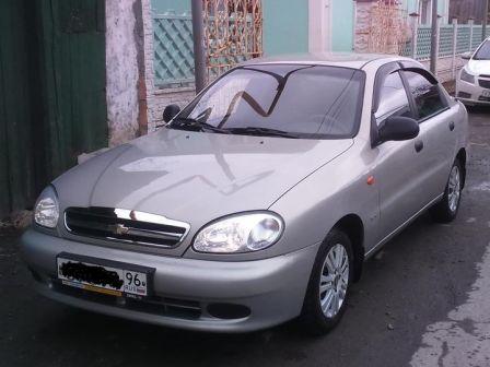 Chevrolet Lanos 2009 - отзыв владельца