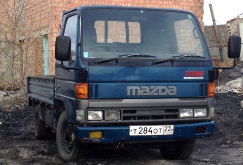 Mazda Titan 1997 - отзыв владельца