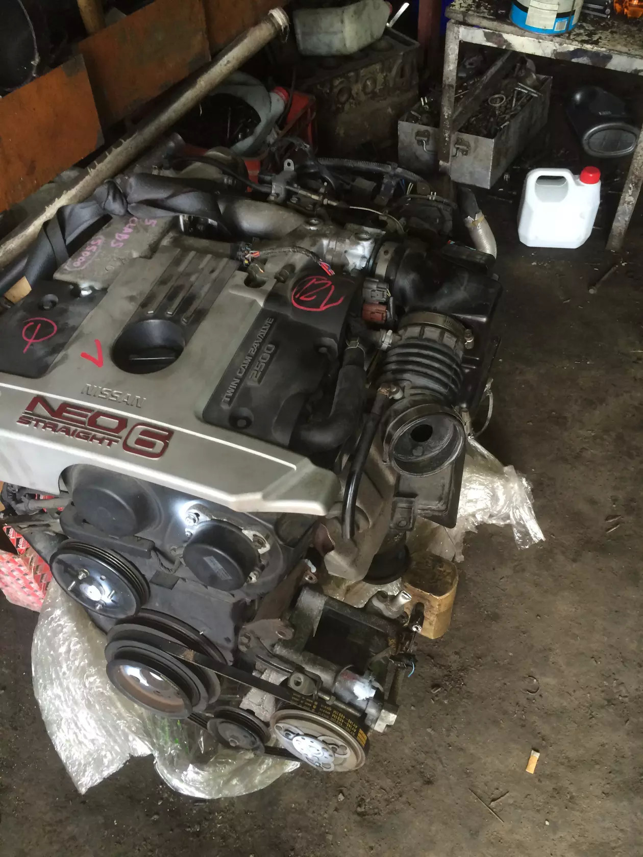 а это новый двигатель!