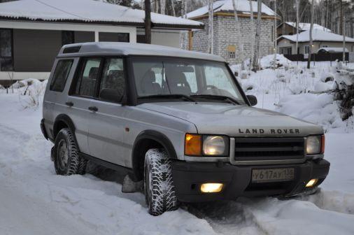 Land Rover Discovery 2002 - отзыв владельца