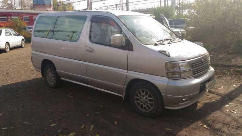 Nissan Homy Elgrand, 1999 год, 370 000 руб.