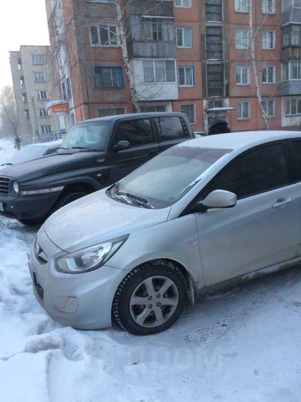 Hyundai Solaris, 2011 год, 449 000 руб.