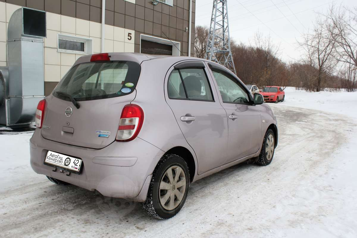 nissan march 2010 1.2л