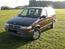 Chrysler Voyager 1991, минивэн, 2 поколение, ES