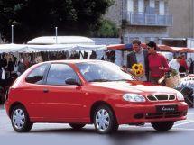 Daewoo Lanos 1 поколение, 01.1997 - 01.2002, Хэтчбек 3 дв.