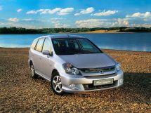 Honda Stream рестайлинг, 1 поколение, 01.2004 - 01.2006, Минивэн