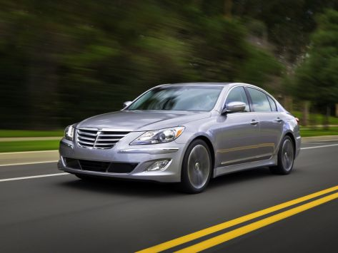 Hyundai Genesis  08.2011 - 03.2014