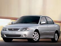 Kia Spectra рестайлинг, 1 поколение, 10.2002 - 01.2004, Седан