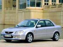 Mazda 323 рестайлинг 2000, седан, 6 поколение, BJ
