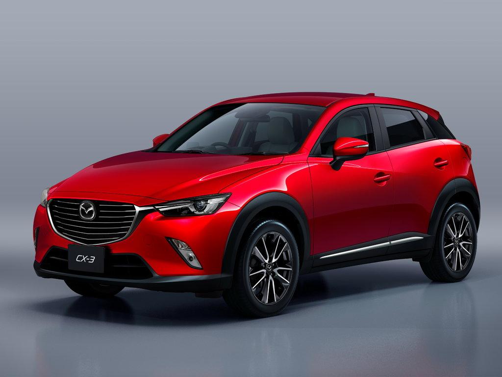 Mazda CX-3 2014, 2015, 2016, 2017, 2018, джип/suv 5 дв., 1 поколение, DK технические характеристики и комплектации