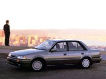 Mazda Familia 1989, седан, 7 поколение, BG