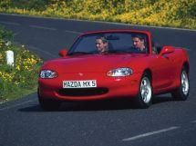 Mazda MX-5 1998, открытый кузов, 2 поколение, NB